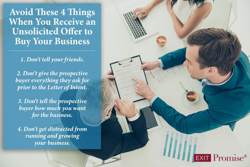 Avoid These 4 Things When Selling Your Business