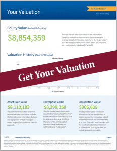 Business Valuation Report