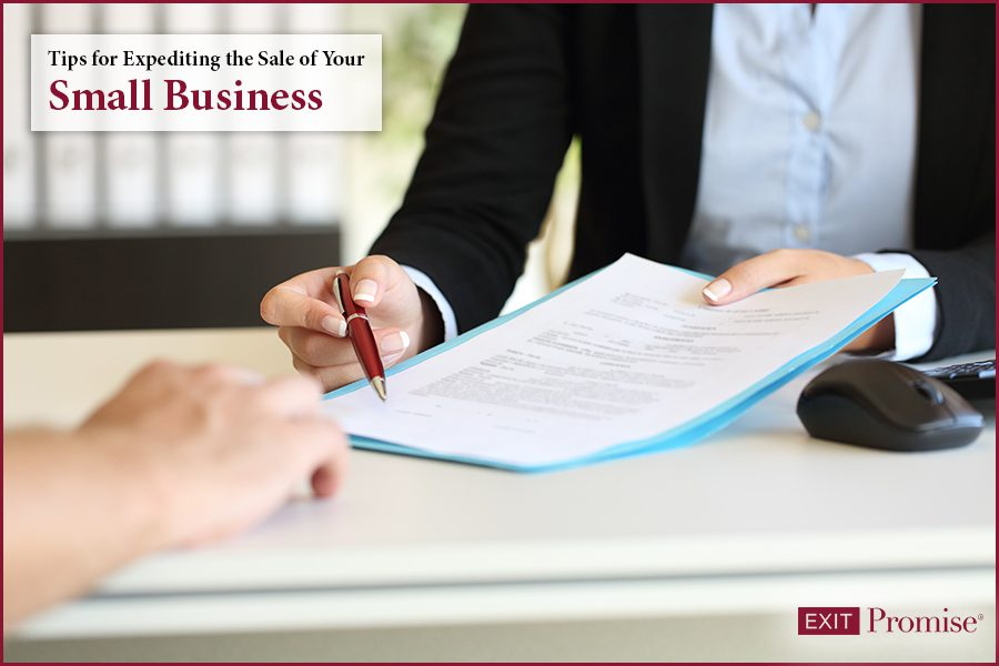 Tips for Expediting the Sale of Your Small Business