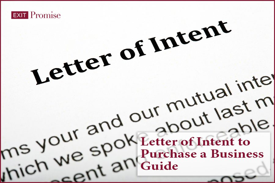 Letter of Intent to Purchase a Business Guide