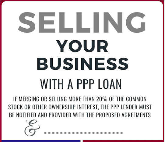Selling your business with a PPP loan clip